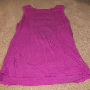 Pink Victoria Sport Muscle Tee